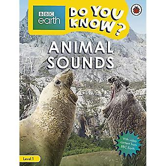 Do You Know? Level 1 - BBC Earth Animal Sounds