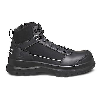 Carhartt Мужские рабочие ботинки Детройт Прочный Flex Светоотражающий S3 Zip Безопасный ботинок