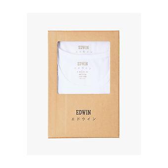 Edwin Jeans Dubbelpaket Tee - Vit