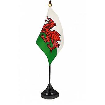 Union Jack usa banderas de la mesa de la bandera de Gales