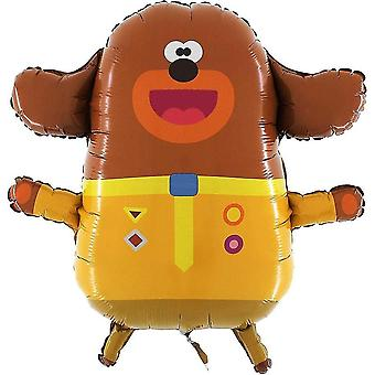 Balloons ® 25 inch 65cm giant jumbo size hey duggee character foil balloon - kids party balloons