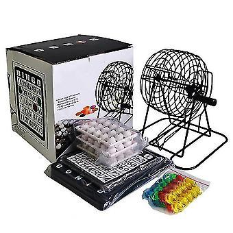 Party Tischspiele Deluxe Bingo Spiel Set mit 18 Karten