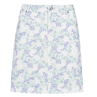 Slazenger Womens Skort Sports Skirt Floral Printed Soft Fabric Casual Bottom