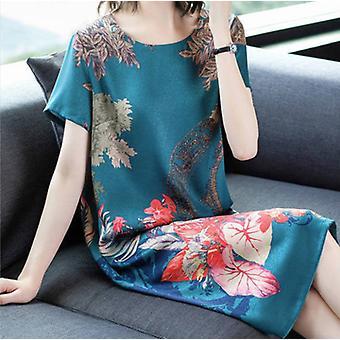 Lady Wide Wife im ausländischen Stil Edles Kleid mittleren Alters und älterer Temperamentrock