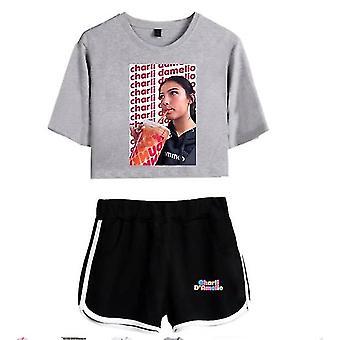 Charla Damelio Tik Tok T-shirt Dress Set 4