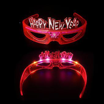 Fancy Glow Crown Muoto Led Lasit Kevyt BaariLasit Silmälasit Halloween joulutanssijuhliin