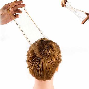 20 db újrafelhasználható hajháló láthatatlan rugalmas élháló nőknek