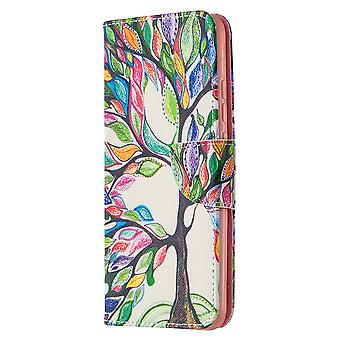 Cas pour Xiaomi Redmi 9a Pattern With Tree Of Life