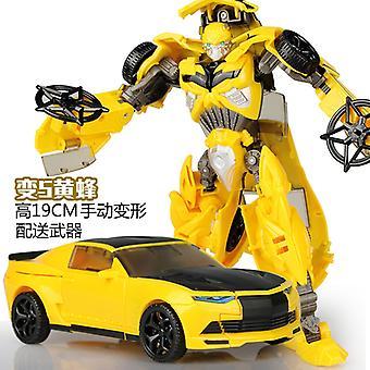 Deformation Toy Car King Kong Hornet Sky Car Robot Hand-made Model