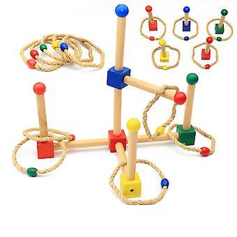 Ring Toss Games Voor Kinderen- Indoor Vakantie Plezier Of Outdoor Yard Game Voor Volwassenen & Familie- Achtertuin Speelgoed