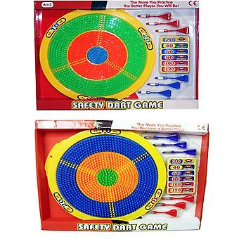 Sicurezza Dart Board bambini giocattolo fatto da plastica include freccette
