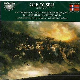 O. Olsen - Ole Olsen: Asgaardsreien; Symphony in G Major; Suite for String Orchestra [CD] USA import