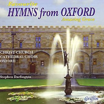 Christ Church Cathedral Choir Oxford - Favourite Hymns From Oxford: Amazing Grace [CD] USA import