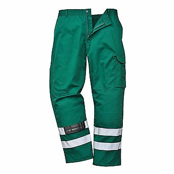 Portwest - Iona Functional Workwear Safety Combat Trousers With Reflective Tape