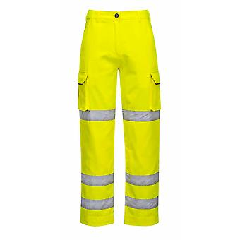 sUw - Ladies Hi-Vis Safety Workwear Polycotton Trousers