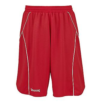 SPALDING basketball crossover formation shorts [rouge]