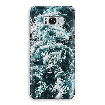 Samsung Galaxy S8 volledige Print kast (Glossy) - Ocean Wave