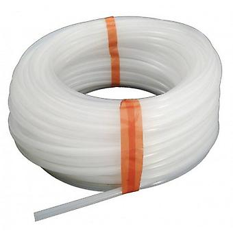 """Stenner AK4010W 0.25"""" x 100' Suction/Discharge Tubing - White"""