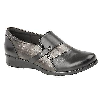 Boulevard Womens/Ladies Slip On Comfort Padded Shoe