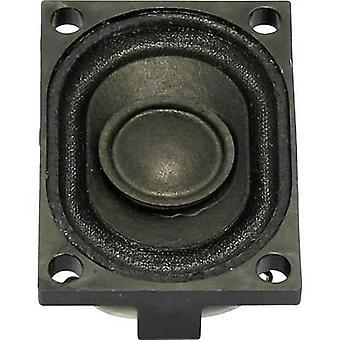 Visaton K 28,40 1,6 pulgadas 4 cm Mini altavoz 2 W 8