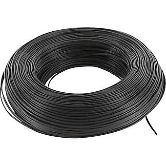 BELI-BECO L218/100 sw Strand 2 x 0.14 mm² Black 100 m