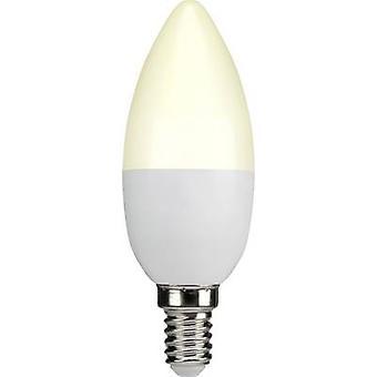 Sygonix LED (monochrome) EEC A+ (A++ - E) E14 Candle 3.3 W = 25 W Warm white (Ø x L) 38 mm x 105 mm 1 pc(s)