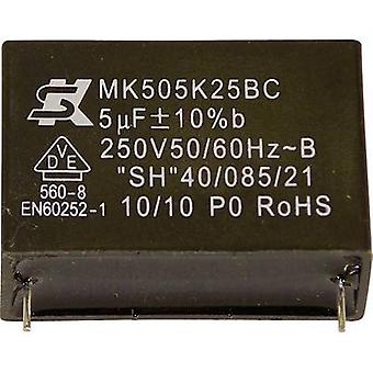 Seika MK250K224 1 pc(s) MKP thin film capacitor Radial lead 0.22 µF 250 V 10 % 15 mm (Ø x H) 12 mm x 6 mm