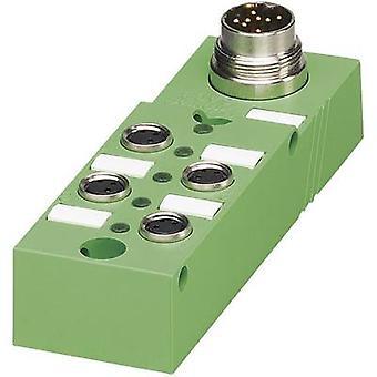 Sensor & actuator box (passive) M8 splitter + steel thread SACB- 4/3-L-M16-M8 1516182 Phoenix Contact 1 pc(s)