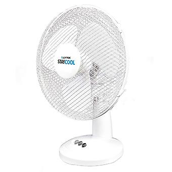 Lloytron Stay Cool Desk Fan 12-tuumainen 40 W-Valkoinen (F1011WH)