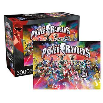 Power Rangers Riese 3000 Stück Jigsaw Puzzle 1150 Mm X 820 Mm