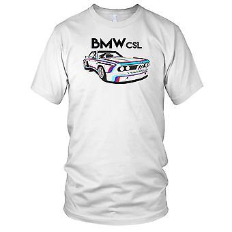 BMW CSL E9 Classic Sport Auto-Herren-T-Shirt