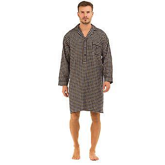 هايجمان طباعة القطن ناعم نايتشيرت ملابس النوم
