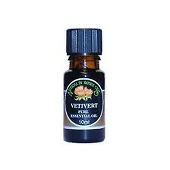 Natural By Nature Oils, Vetivert Essential Oil, 10ml