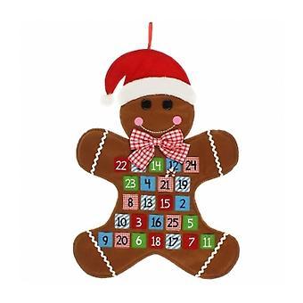 Gingerbread Man Felt Advent Calendar