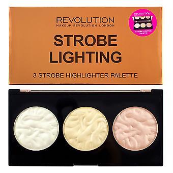 Make-up revolutie strobe verlichting palet