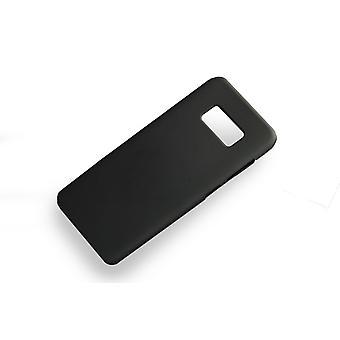 Zachte zwarte case Samsung Galaxy S8