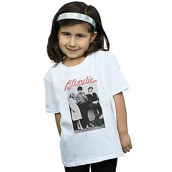 Blondie Girls Sıkıntılı Band T-Shirt