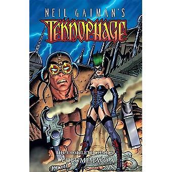 Teknophage #2 par Steve Pugh - Fred Harper - Angus McKie de Neil Gaiman