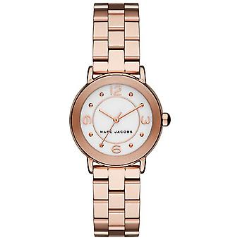 Marc Jacobs Womens Riley Rose Gold Tone MJ3474 Watch