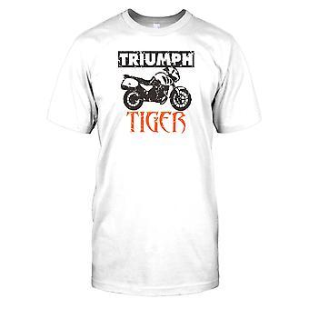 Triumph Tiger plakat - klassiske cykel Herre T-shirt