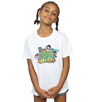 DC Comics Girls Teen Titans Go Sweet Tooth T-Shirt