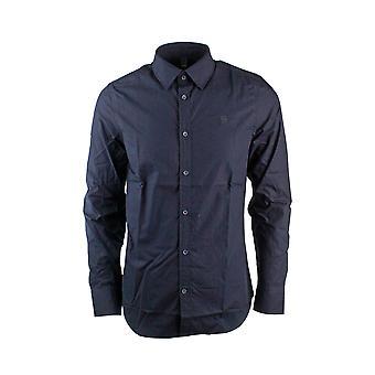G-Star Likorm Core Shirt L/S Stanley Poplin Mazarine Blue Shirt