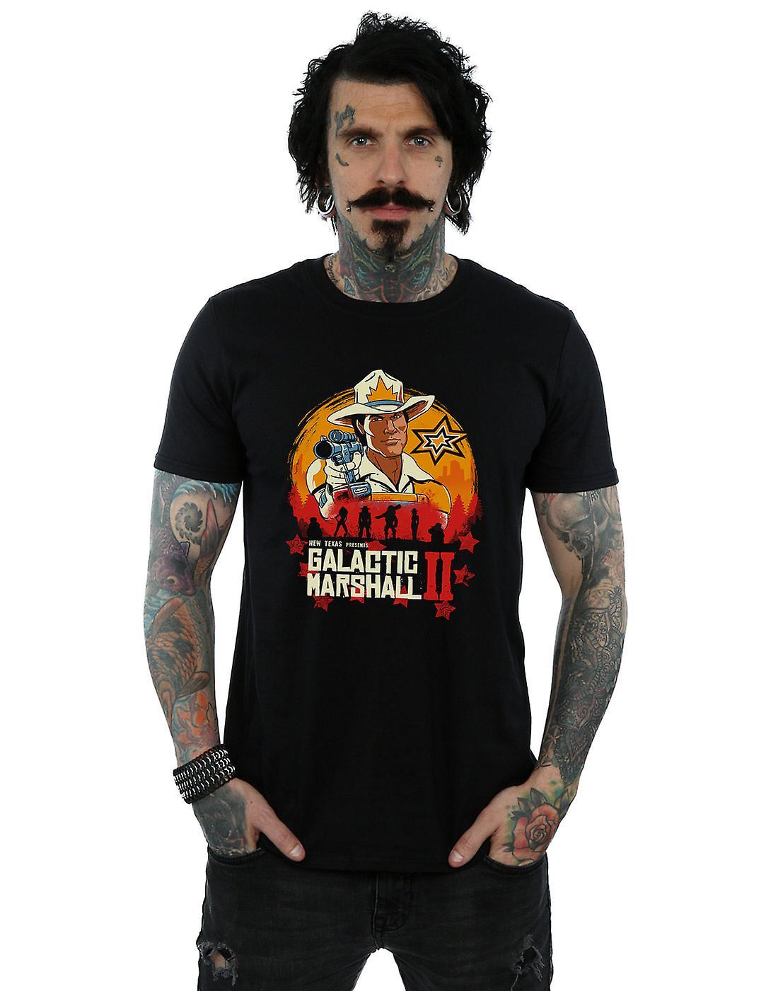 Vincent Trinidad Men's Red Galactic Marshall II T-Shirt