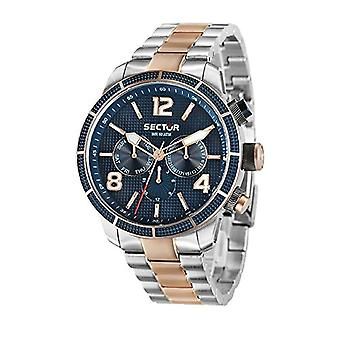 SECTOR men's Quartz analogue watch with stainless steel strap R3253575005