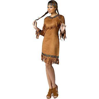 Native American Beauty aikuisten puku