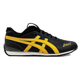 Asics Shihan GS Black/Yellow-White  Grade-School C9N1Y 9004 Size 5 Medium