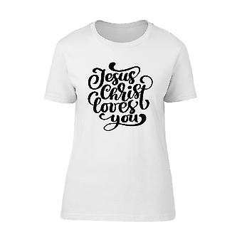 Christ Loves You Tee Men's -Image by Shutterstock