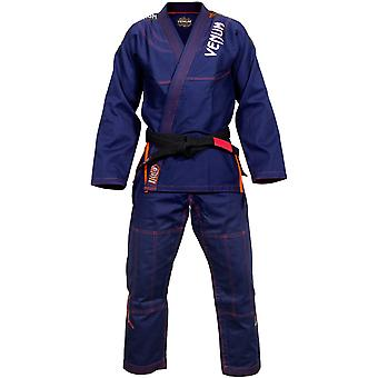 VM Mens Challenger 3.0 BJJ Gi - Navy/Orange