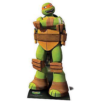 Michelangelo Teenage Mutant Ninja Turtles Lifesize kartong släppandet / stående / Standup - Nickelodeon-serien