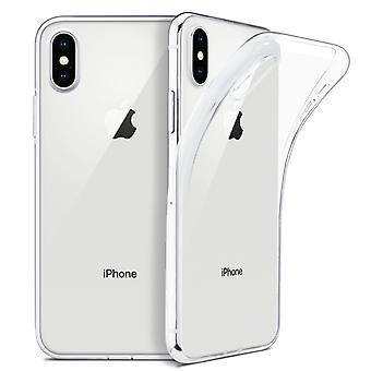 Ultratunn soft shell TPU iPhone XS Max doorschijnend